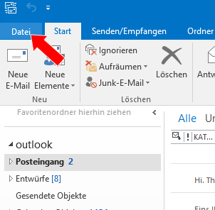 how to change imap to pop3 in outlook 2016